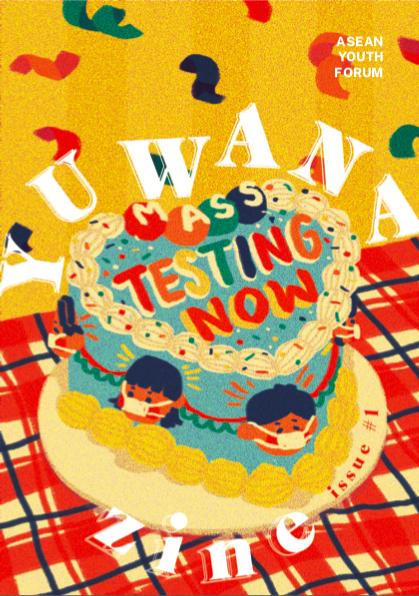 Yuwana Zine #1 Cover by Yela Bau